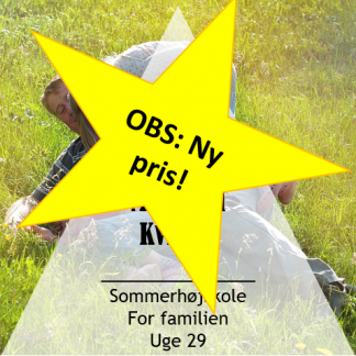 Mærk din familie igen - Sommerhøjskole for familier uge 29